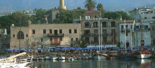 Harbour scene in Cyprus